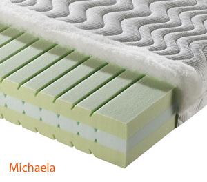 Matrace pro děti Michaela, sendvičová ze studené pěny Celtex. Snímatelný potah s možností praní. Výroba na míru. Český výrobek.