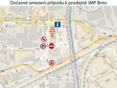 Prodejna Brno ul. Masná
